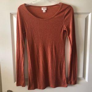 Mossimo Burnt Orange Shirt